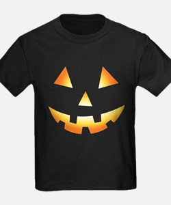 Pumpkin Face Halloween T