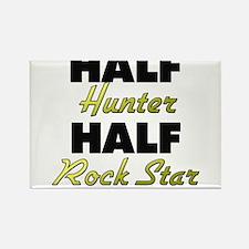 Half Hunter Half Rock Star Magnets