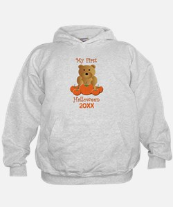 My First Halloween Customizable Year Hoodie