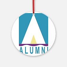 NWSA Alumni A Logo Ornament (Round)