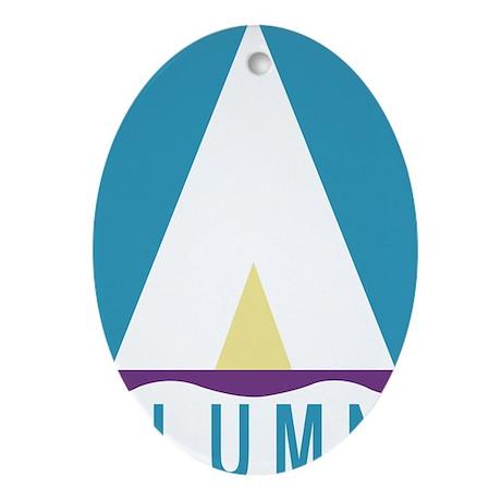 NWSA Alumni A Logo Ornament (Oval)