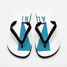 NWSA Alumni A Logo Flip Flops