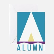 NWSA Alumni A Logo Greeting Cards