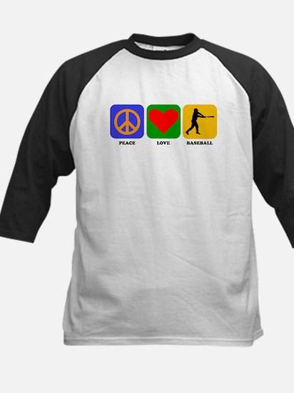 Peace Love Baseball Baseball Jersey