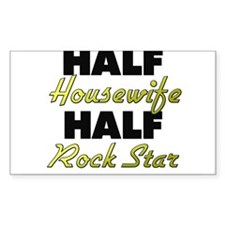 Half Housewife Half Rock Star Decal