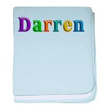 Darren Shiny Colors baby blanket