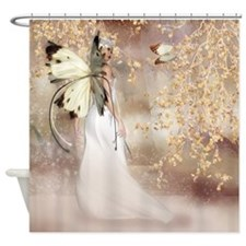 Fantasy Fairy Imbolc Spirit Shower Curtain