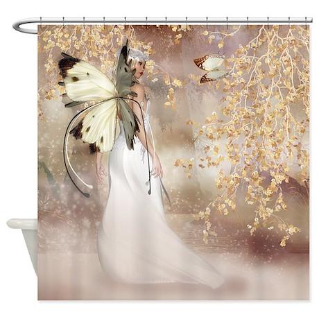 Captivating Fantasy Fairy Imbolc Spirit Shower Curtain