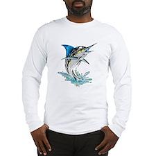 Leaping Marlin copy Long Sleeve T-Shirt