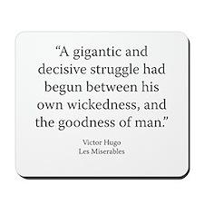 Les Miserables V1 Bk2 Ch13 Mousepad