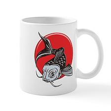 Japanese Koi Logo copy Mugs