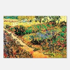 Flowering Garden with Path by Vincent van Gogh. Vi