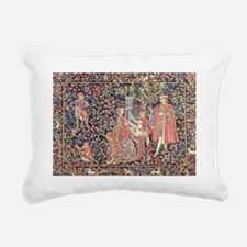 Royal Tapestry Rectangular Canvas Pillow