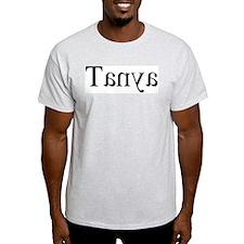 Tanya: Mirror Ash Grey T-Shirt