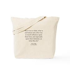 Les Miserables V1 Bk1 Ch1 Tote Bag