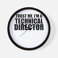 Trust Me, I'm A Technical Director Wall Clock