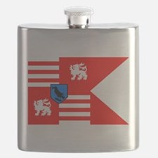The Black Army Flag Flask