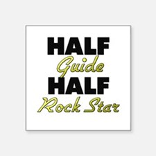 Half Guide Half Rock Star Sticker