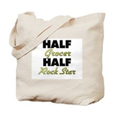 Half Grocer Half Rock Star Tote Bag