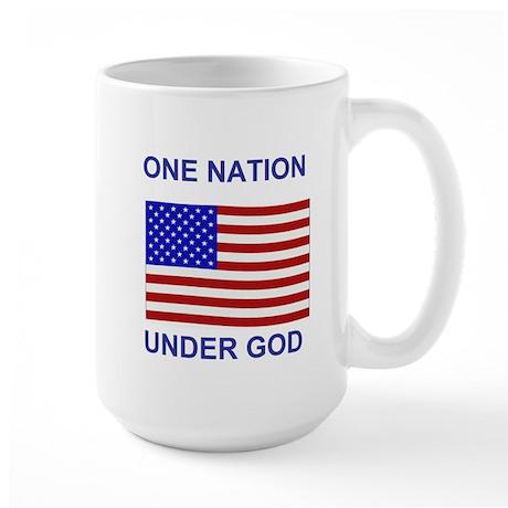 One Nation Under God Large Mug