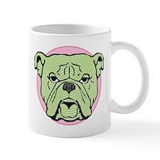 Halftone Bulldog Mug