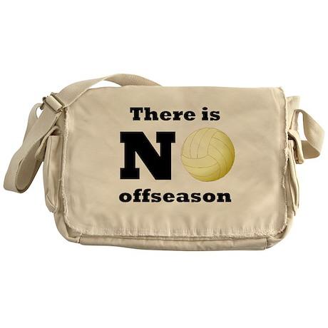 No Volleyball Offseason Messenger Bag