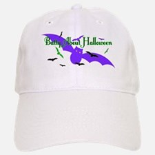 Batty About Halloween Baseball Baseball Baseball Cap