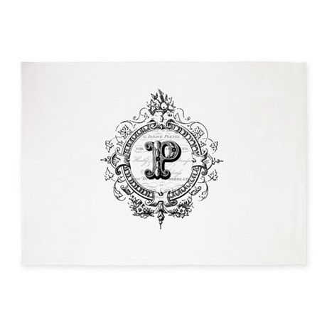 Letter p gifts modern vintage french monogram letter p bedroom d 233 cor