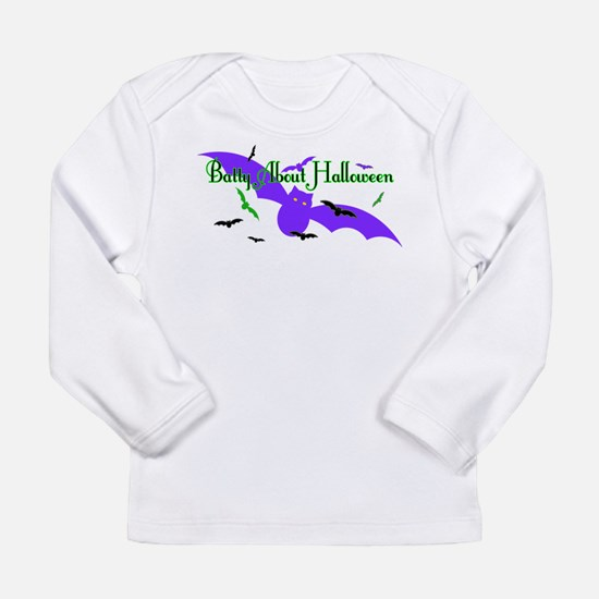 Batty About Halloween Long Sleeve T-Shirt