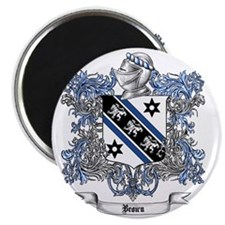 Brown Family Crest 4 Magnet