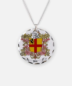 Burke Family Crest Necklace