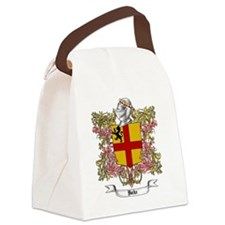 Burke Family Crest Canvas Lunch Bag