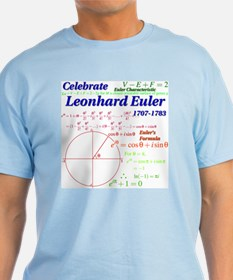 Celebrate Euler Light Color T-Shirt