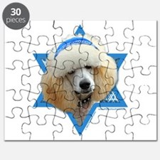 Hanukkah Star of David - Poodle Puzzle