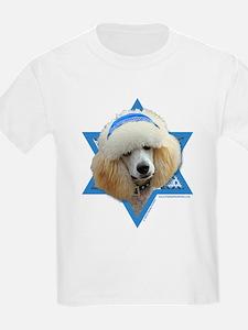 Hanukkah Star of David - Poodle T-Shirt
