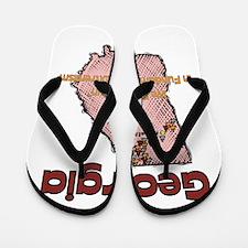 Georgia Funny Quote Flip Flops