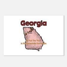 Georgia Funny Quote Postcards (Package of 8)
