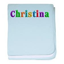 Christina Shiny Colors baby blanket