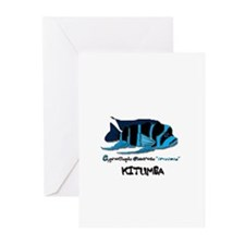 Cute African cichlid Greeting Cards (Pk of 10)