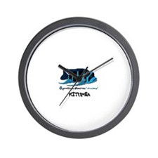 Cute Zaire Wall Clock