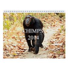 Chimps 2014 Wall Calendar