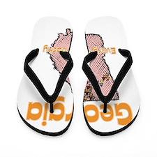 Georgia - Everything's Peachy Flip Flops