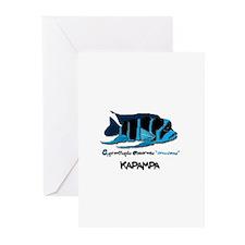 """""""KAPAMPA"""" Frontosa Greeting Cards (Pk of 10)"""