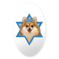 Hanukkah Star of David - Pom Decal