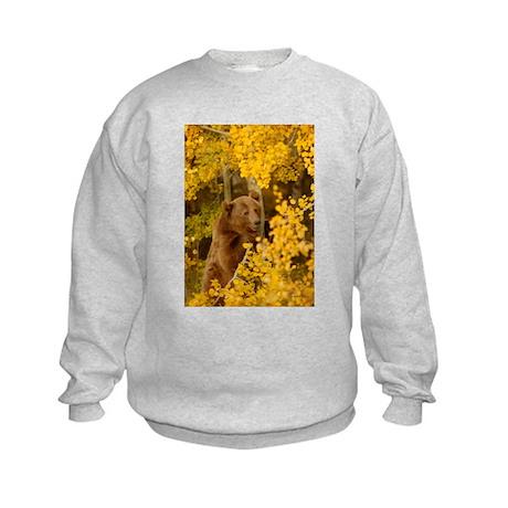 Autumn Grizzly Kids Sweatshirt