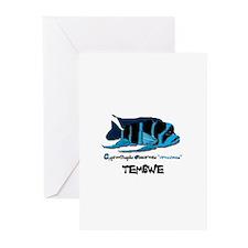 """""""TEMBWE"""" Frontosa Greeting Cards (Pk of 10)"""
