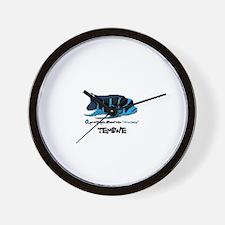 """TEMBWE"" Frontosa Wall Clock"
