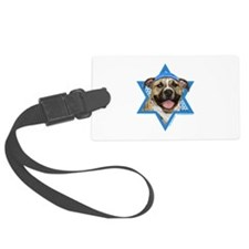 Hanukkah Star of David - Pitbull Luggage Tag