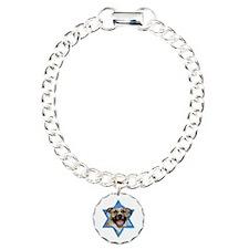 Hanukkah Star of David - Pitbull Bracelet
