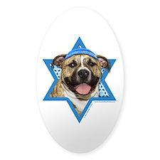 Hanukkah Star of David - Pitbull Decal